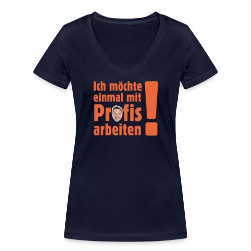 Profi Team Edition - Frauen Bio-T-Shirt mit V-Ausschnitt von Stanley & Stella