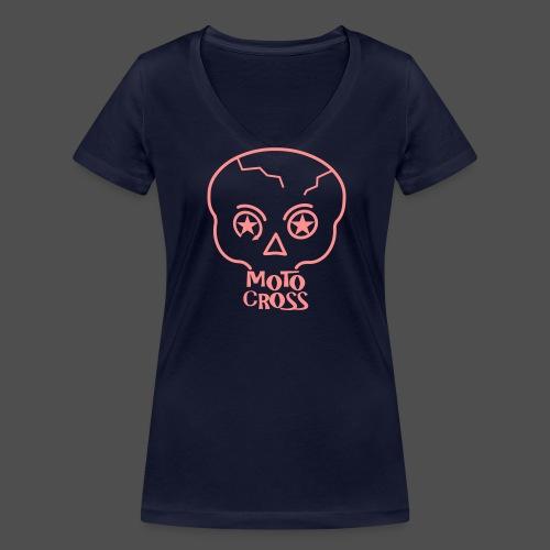 MX Skull No.5 - Frauen Bio-T-Shirt mit V-Ausschnitt von Stanley & Stella
