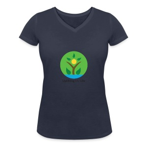 Uplifting My Life Official Merchandise - Women's Organic V-Neck T-Shirt by Stanley & Stella