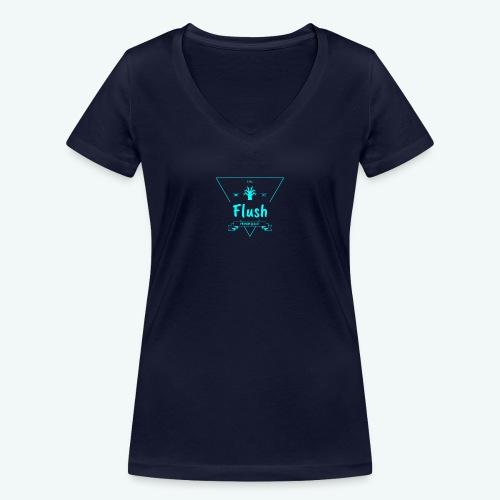 Flush - Vrouwen bio T-shirt met V-hals van Stanley & Stella