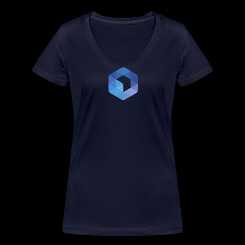 L'hexagone AFUP - T-shirt bio col V Stanley & Stella Femme