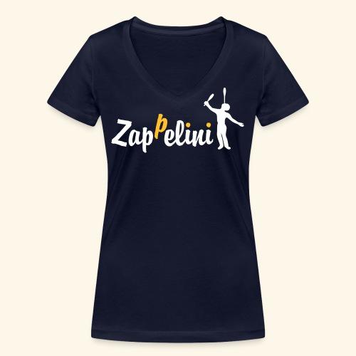 Zappelini - Frauen Bio-T-Shirt mit V-Ausschnitt von Stanley & Stella
