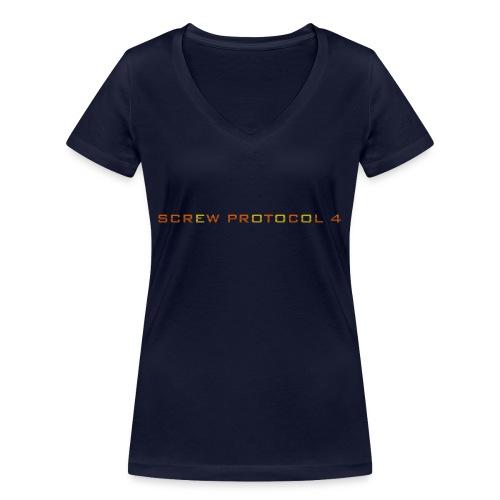 ScrewP4 Final - Women's Organic V-Neck T-Shirt by Stanley & Stella