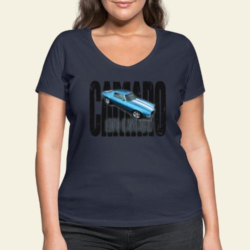 70 Camaro - Økologisk Stanley & Stella T-shirt med V-udskæring til damer