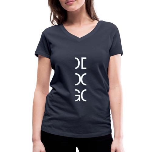 DOG - Women's Organic V-Neck T-Shirt by Stanley & Stella