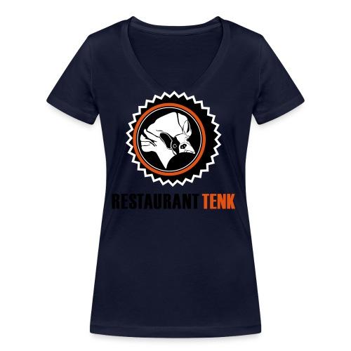 T Shirt TENK - Frauen Bio-T-Shirt mit V-Ausschnitt von Stanley & Stella