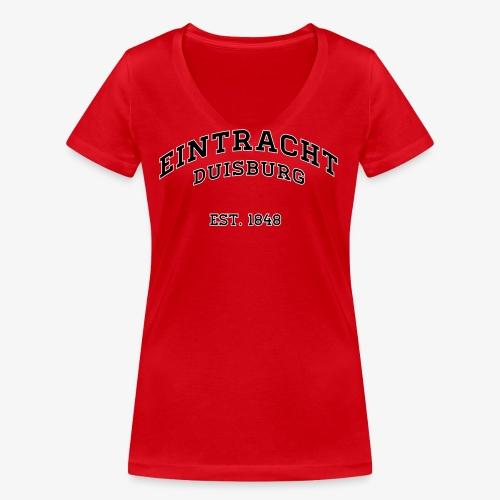College Style 4 - Frauen Bio-T-Shirt mit V-Ausschnitt von Stanley & Stella