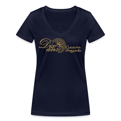 dixans02d - T-shirt bio col V Stanley & Stella Femme