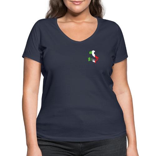 Tedeschi italie - T-shirt bio col V Stanley & Stella Femme