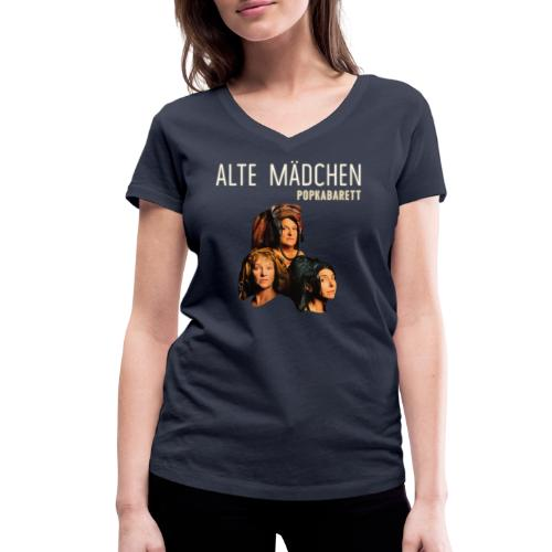 Alte Mädchen - Frauen Bio-T-Shirt mit V-Ausschnitt von Stanley & Stella