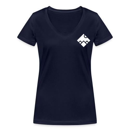 Berge - Frauen Bio-T-Shirt mit V-Ausschnitt von Stanley & Stella