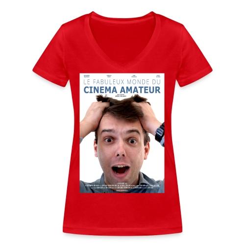 afficheLeFabuleux - T-shirt bio col V Stanley & Stella Femme