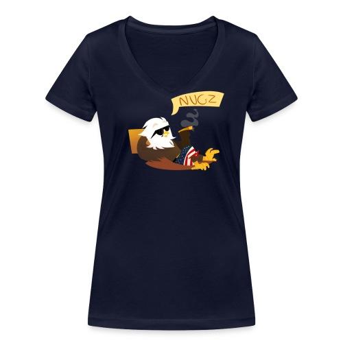 Women's V Neck - Women's Organic V-Neck T-Shirt by Stanley & Stella