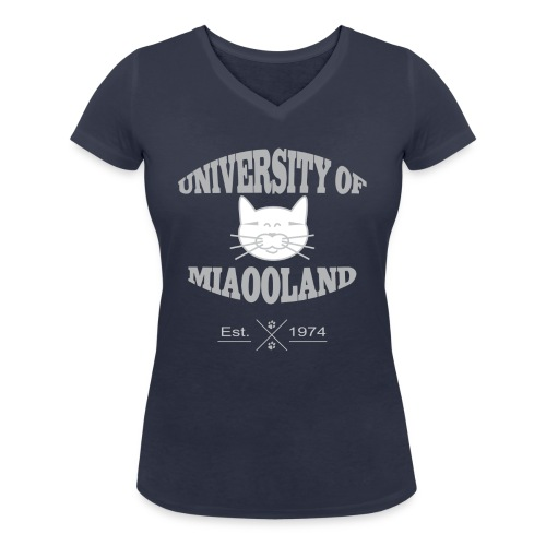 university miaooland png - T-shirt bio col V Stanley & Stella Femme