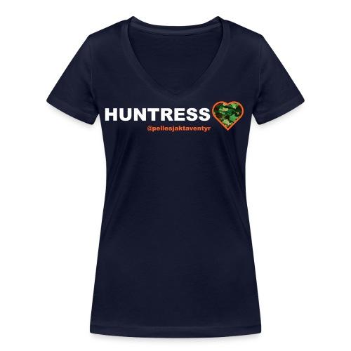 tishhuntress png - Ekologisk T-shirt med V-ringning dam från Stanley & Stella