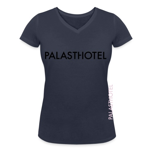 Palasthotel - Frauen Bio-T-Shirt mit V-Ausschnitt von Stanley & Stella