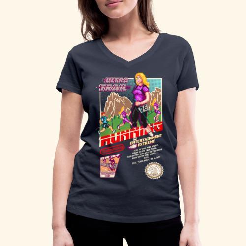 ULTRA TRAIL RUNNING (FAST GIRL) - T-shirt ecologica da donna con scollo a V di Stanley & Stella
