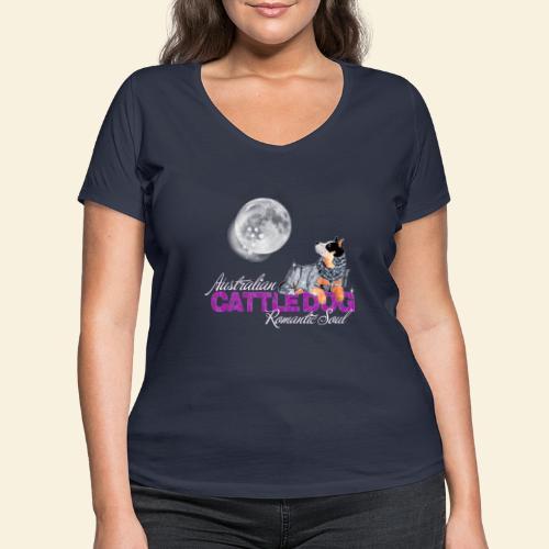 ACD Romantic Pink - T-shirt ecologica da donna con scollo a V di Stanley & Stella