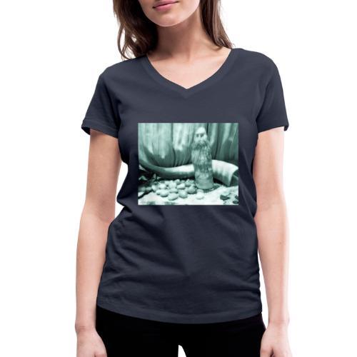Odino e le Rune - T-shirt ecologica da donna con scollo a V di Stanley & Stella