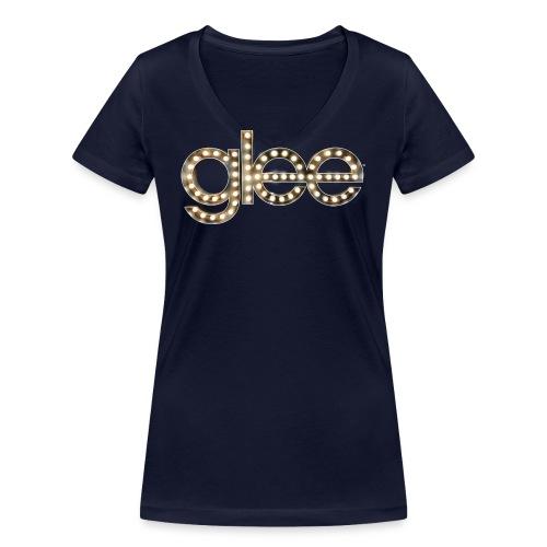 Glee Logo Light Bulbs - Frauen Bio-T-Shirt mit V-Ausschnitt von Stanley & Stella