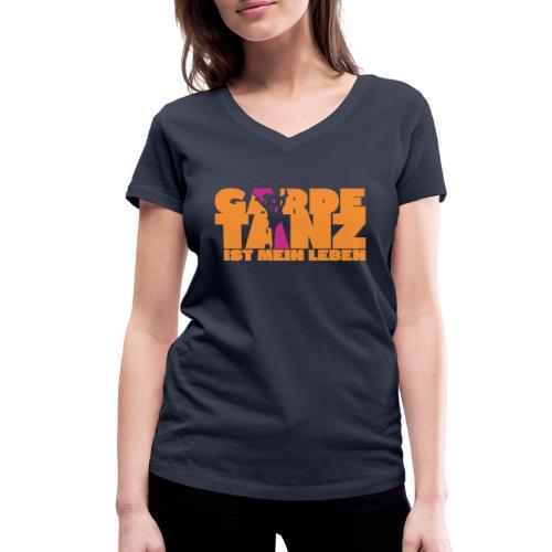 Gardetanz ist mein Leben - Frauen Bio-T-Shirt mit V-Ausschnitt von Stanley & Stella