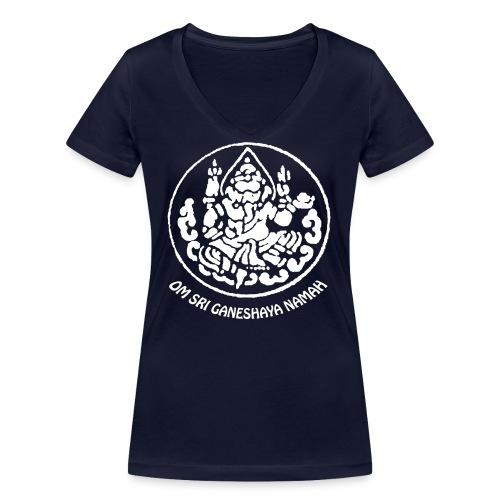 Om Sri Ganeshaya Namah! - Frauen Bio-T-Shirt mit V-Ausschnitt von Stanley & Stella