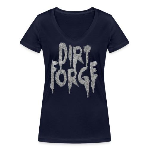 Dirt Forge Gravel t-shirt - Økologisk Stanley & Stella T-shirt med V-udskæring til damer