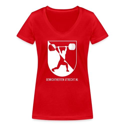 Modern Logo - Vrouwen bio T-shirt met V-hals van Stanley & Stella