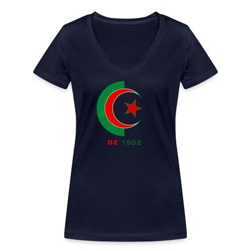 logo 3 sans fond dz1962 - T-shirt bio col V Stanley & Stella Femme