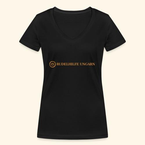 Rudelhilfe Logo - Frauen Bio-T-Shirt mit V-Ausschnitt von Stanley & Stella