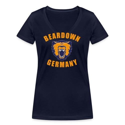 BDG Logo - Frauen Bio-T-Shirt mit V-Ausschnitt von Stanley & Stella