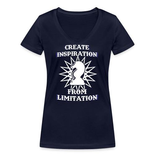 Chesster Tasse - Frauen Bio-T-Shirt mit V-Ausschnitt von Stanley & Stella