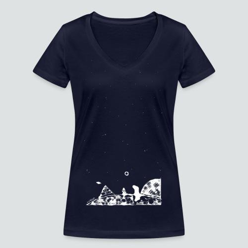 Hipster Labuversum png - Frauen Bio-T-Shirt mit V-Ausschnitt von Stanley & Stella