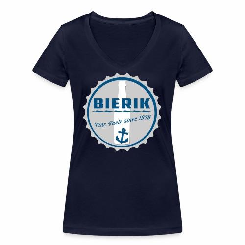 BaseCap A - Frauen Bio-T-Shirt mit V-Ausschnitt von Stanley & Stella