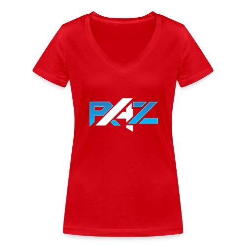 RAZ eSports - Frauen Bio-T-Shirt mit V-Ausschnitt von Stanley & Stella
