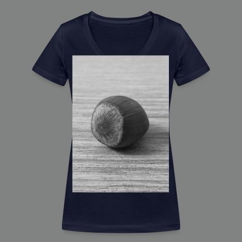 Nuss2014 jpg - Frauen Bio-T-Shirt mit V-Ausschnitt von Stanley & Stella