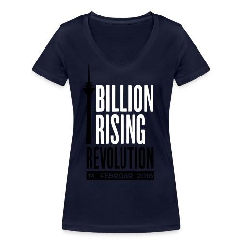 Motiv1_Pfade - Frauen Bio-T-Shirt mit V-Ausschnitt von Stanley & Stella