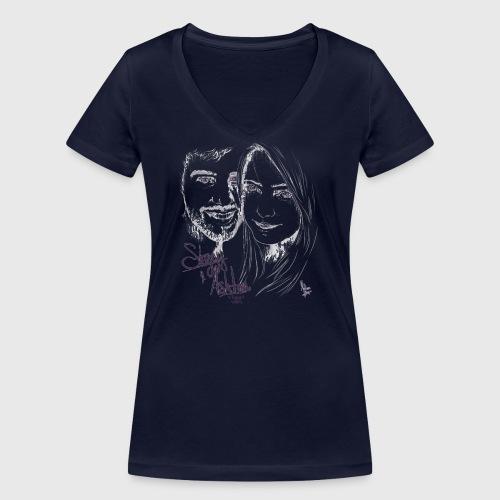 Stuggy Ashton - Women's Organic V-Neck T-Shirt by Stanley & Stella