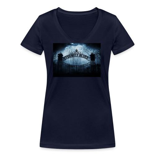 Eternity Blues - T-shirt ecologica da donna con scollo a V di Stanley & Stella