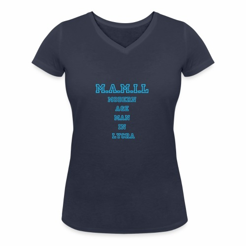 MAMIL - Women's Organic V-Neck T-Shirt by Stanley & Stella