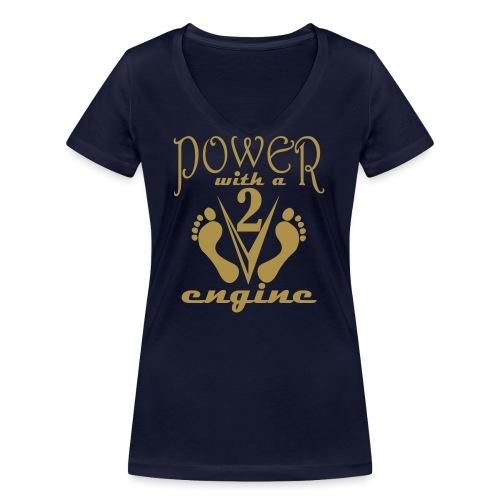 v2a - T-shirt bio col V Stanley & Stella Femme