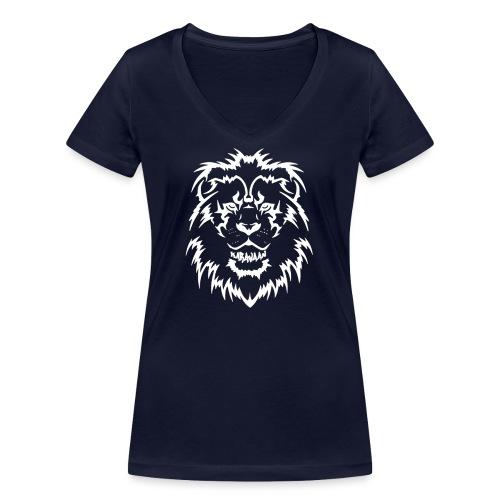 Karavaan LION - Vrouwen bio T-shirt met V-hals van Stanley & Stella