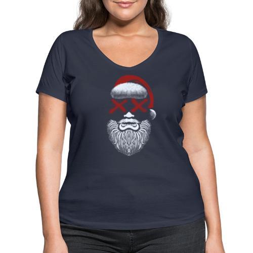 Weihnachten fällt aus - Frauen Bio-T-Shirt mit V-Ausschnitt von Stanley & Stella