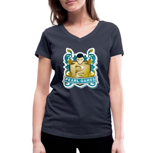 PEARL GAMES - T-shirt bio col V Stanley & Stella Femme