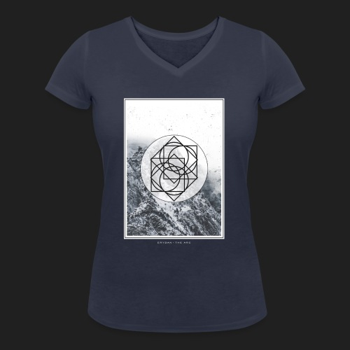 ERYDAN NAME REDUIT - Women's Organic V-Neck T-Shirt by Stanley & Stella
