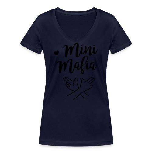 Mini-Mafia Langarmshirt (Teenager) - Frauen Bio-T-Shirt mit V-Ausschnitt von Stanley & Stella
