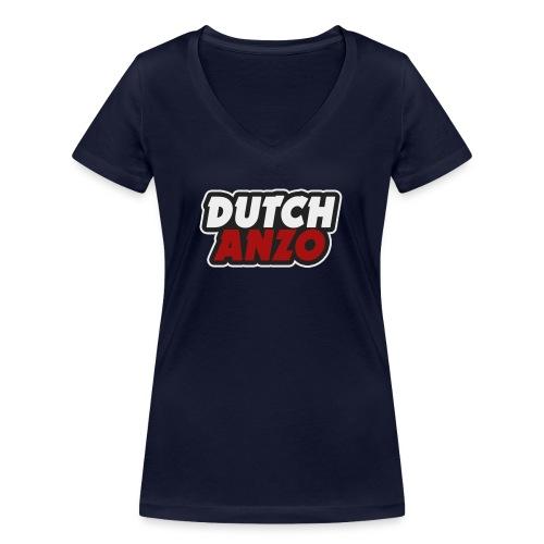 dutchanzo - Vrouwen bio T-shirt met V-hals van Stanley & Stella
