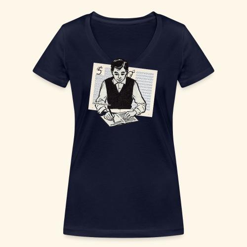 DerbraveJungeTest - Frauen Bio-T-Shirt mit V-Ausschnitt von Stanley & Stella