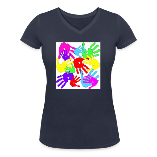 pastrocchio2 - T-shirt ecologica da donna con scollo a V di Stanley & Stella
