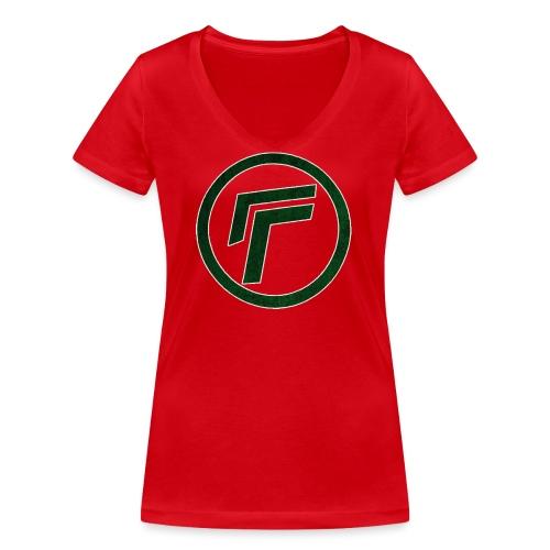 Naamloos 1 png - Women's Organic V-Neck T-Shirt by Stanley & Stella